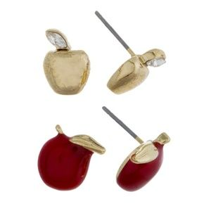 Jewelry - Apple Earrings